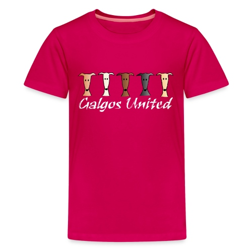 Galgos united - Teenager Premium T-Shirt