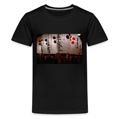 Japanische Lampions - Teenager Premium T-Shirt