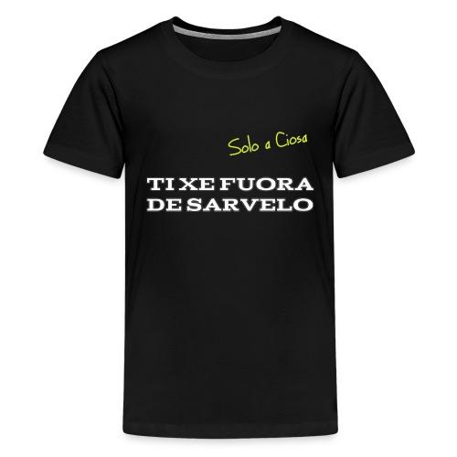 TI XE FUORA DE SARVELO - Maglietta Premium per ragazzi