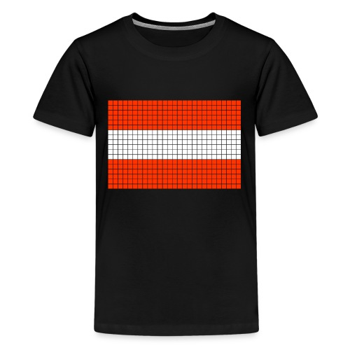 austrian flag - Maglietta Premium per ragazzi