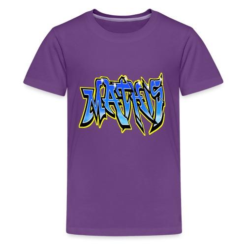 Graffiti Mathis - T-shirt Premium Ado