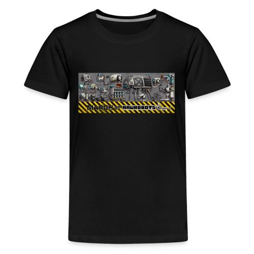 #MarchOfRobots ! LineUp Nr 1 - Teenager premium T-shirt