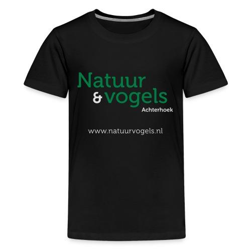 Natuurvogels2016 - Teenager Premium T-shirt