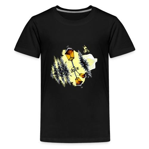 Ride Tek sable - T-shirt Premium Ado