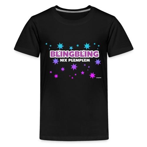 blingbling nixplemplem - Teenager Premium T-Shirt