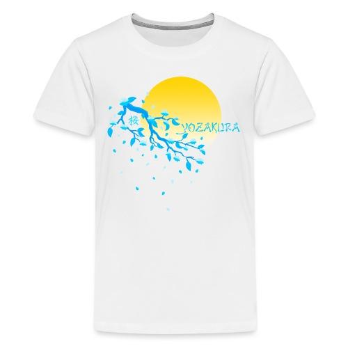Cherry Blossom Festval Full Moon 2 - Teenager Premium T-Shirt
