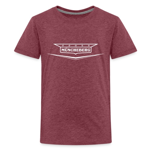 Müncheberg Old-Style-Emblem - Teenager Premium T-Shirt