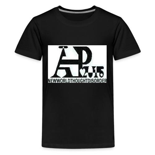 A P Logo jpg - Teenage Premium T-Shirt