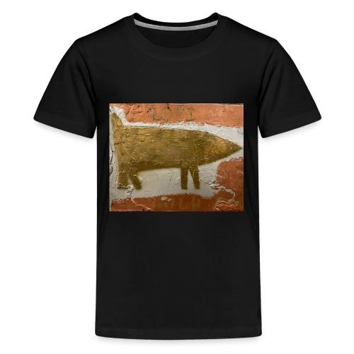 LOVE GOLD - T-shirt Premium Ado
