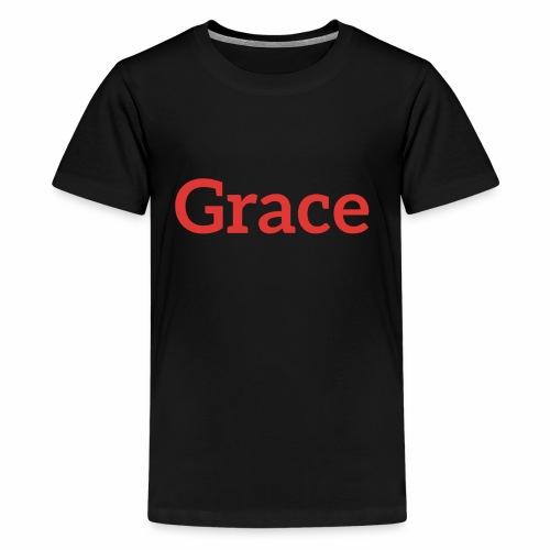 grace - Teenage Premium T-Shirt