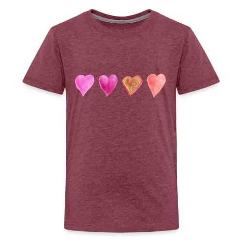 Herzen - Teenager Premium T-Shirt