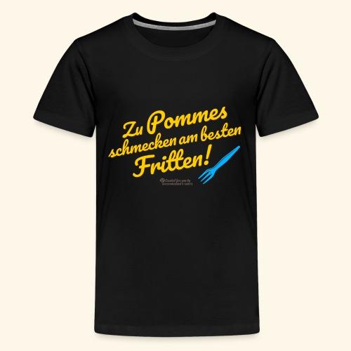 Pommes & Fritten   Geek T-Shirts - Teenager Premium T-Shirt