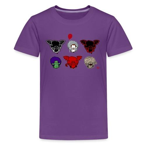 Sheepers Creepers - Teenage Premium T-Shirt