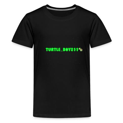Turtle_Boy211 Merch for Kids! - Teenage Premium T-Shirt