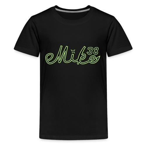 mike38teksti - Teinien premium t-paita