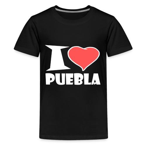 I love Puebla - Teenager Premium T-Shirt
