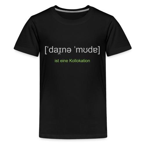mudda rub2 png - Teenager Premium T-Shirt