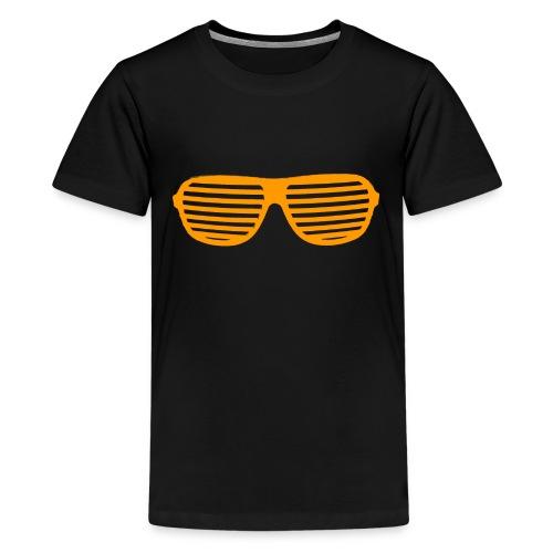 lunette Orange - T-shirt Premium Ado