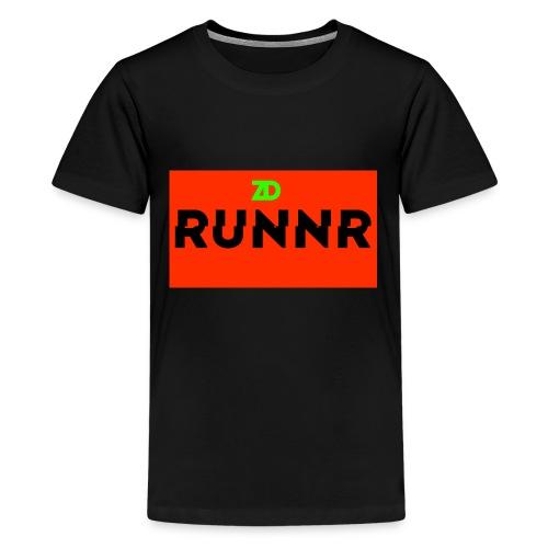 Runnr Shirt - Teenage Premium T-Shirt