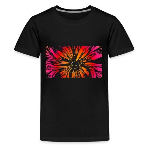 pétales sauvages - T-shirt Premium Ado