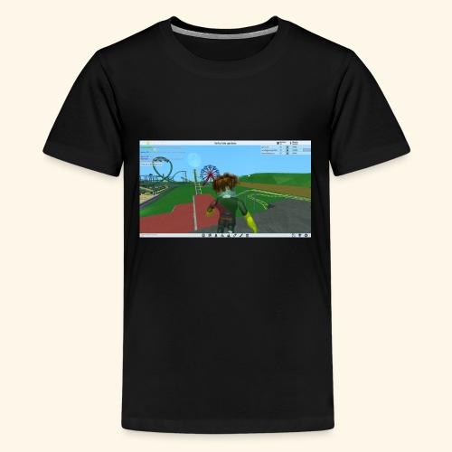 randie gaming t shrit - Teenager Premium T-shirt