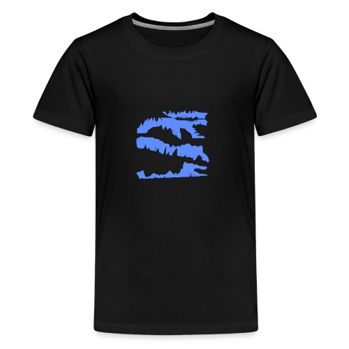 Blue_Sample.png - Teenager Premium T-Shirt