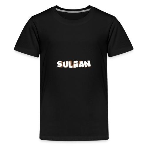 Schrift1 - Teenager Premium T-Shirt