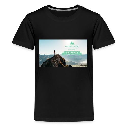fbdjfgjf - Teenage Premium T-Shirt