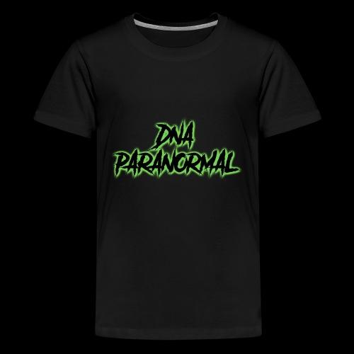 DNA PARANORMAL - Teenage Premium T-Shirt