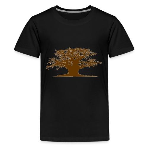 baobab gif - T-shirt Premium Ado
