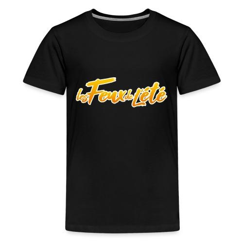 Logo FDE One - T-shirt Premium Ado