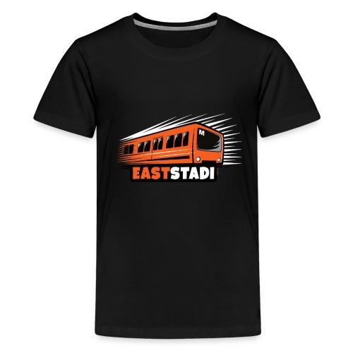 ITÄ-HELSINKI East Stadi Metro T-shirts, Clothes - Teinien premium t-paita