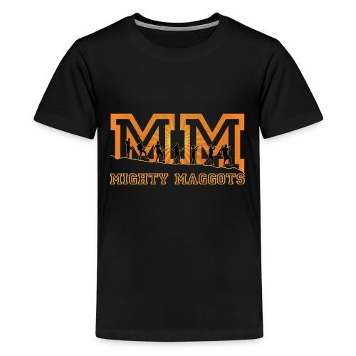 Retro Tasche Mighty Maggots - Teenager Premium T-Shirt