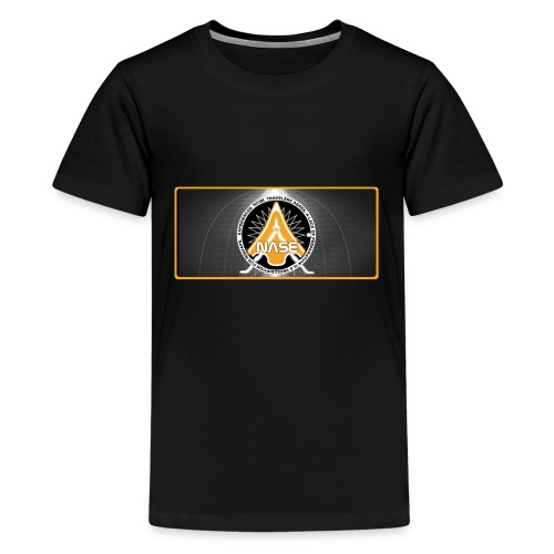 T- Shirt N A S E II Nasa Space Geschenkidee ScyFi - Teenager Premium T-Shirt