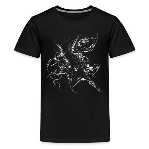 martial arts - Teenage Premium T-Shirt