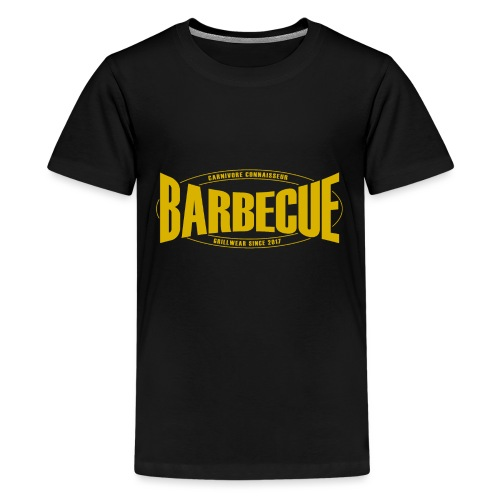 Barbecue Grillwear since 2017 - Grillshirt - T-Shi - Teenager Premium T-Shirt