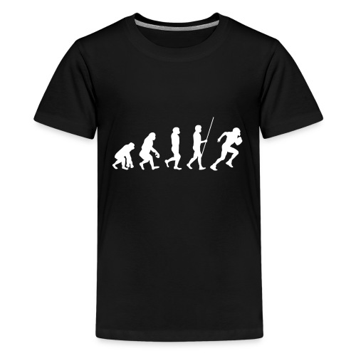 Evolution - Teenager Premium T-Shirt