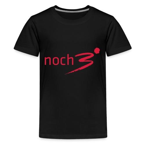 noch3logo 132848 132848 132848 132848 1 - Teenager Premium T-Shirt