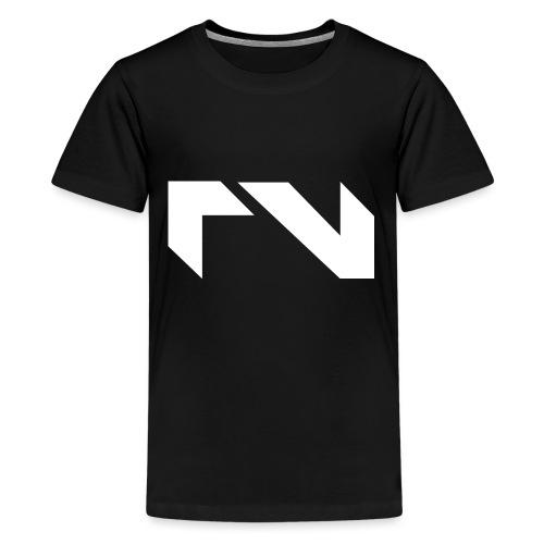 Logo white png - Teenager Premium T-shirt