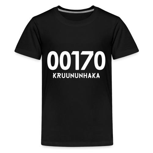 00170 KRUUNUNHAKA - Teinien premium t-paita