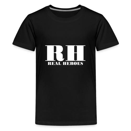 Real Heroes - Teenager premium T-shirt