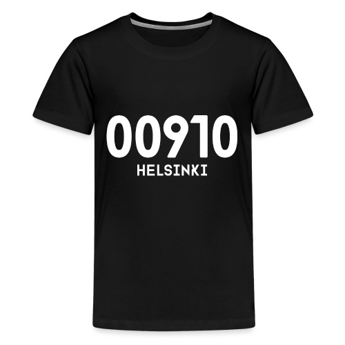 00910 HELSINKI - Teinien premium t-paita