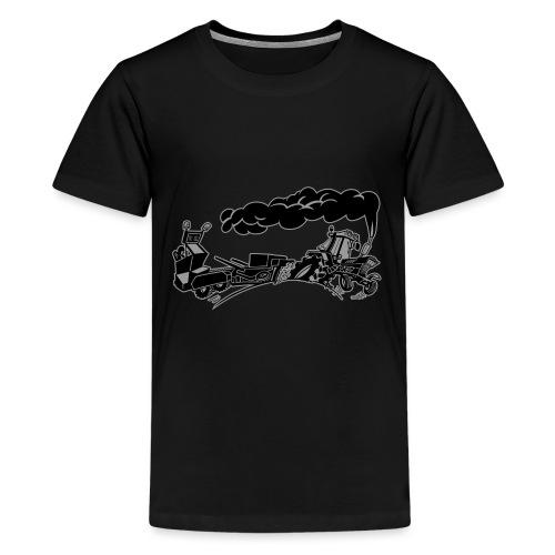 Pulling IH duotone - Teenager Premium T-shirt