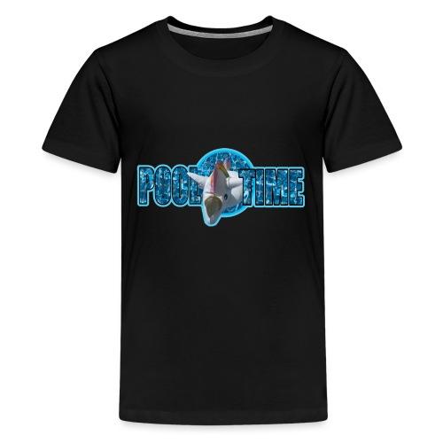 pool time - Teenager Premium T-Shirt