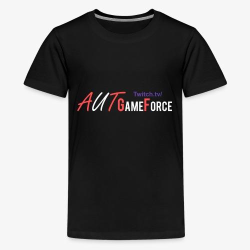 Aufsticker v2 0 png - Teenager Premium T-Shirt