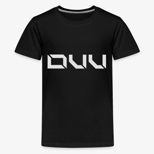 DUU weiß - Teenager Premium T-Shirt
