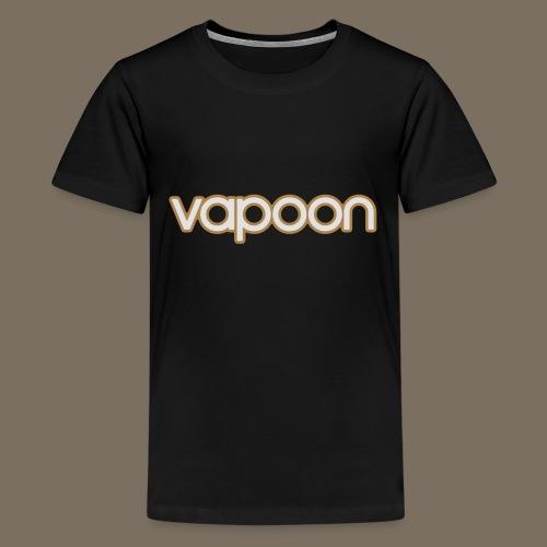 Vapoon Logo simpel 2 Farb - Teenager Premium T-Shirt