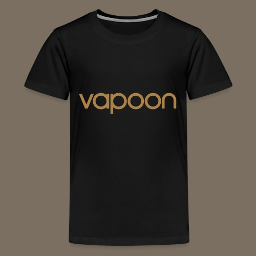 Vapoon Logo simpel 01 - Teenager Premium T-Shirt