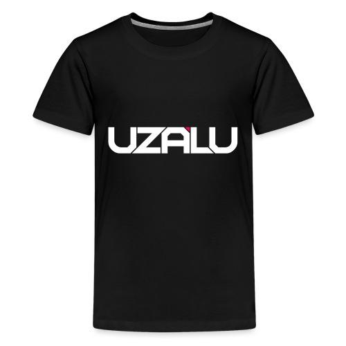 uzalu Text Logo - Teenage Premium T-Shirt