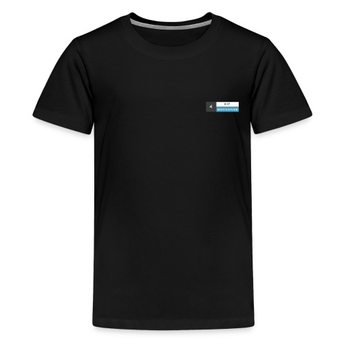 Fit 4 Motivation - Teenager Premium T-Shirt